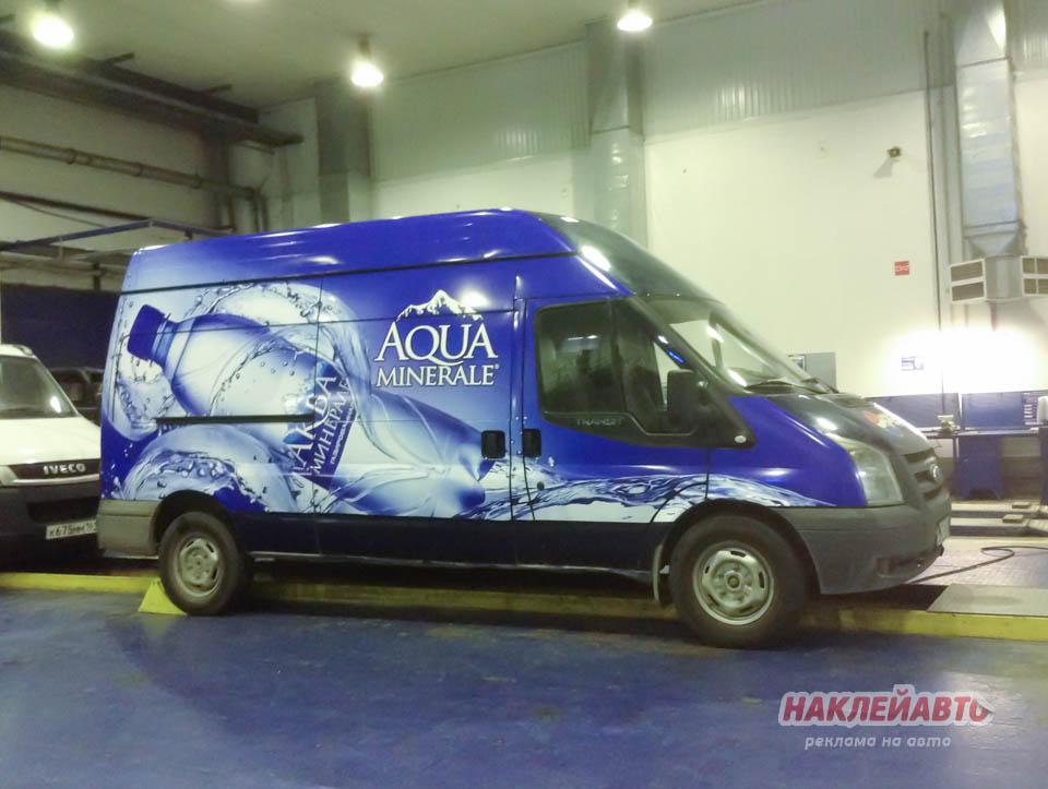 Реклама на транспорте Aqua Minerale®